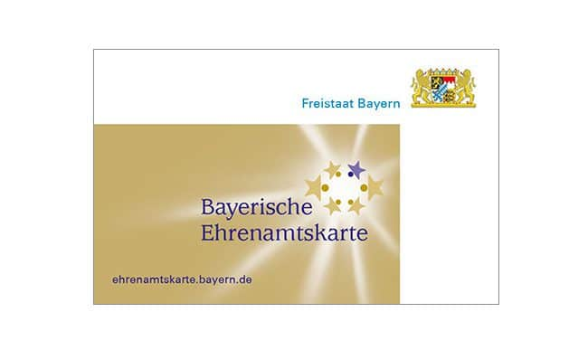 Ehrenamtscard Bayern