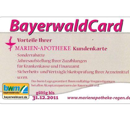 Marien Apotheke – Bayerwald Card