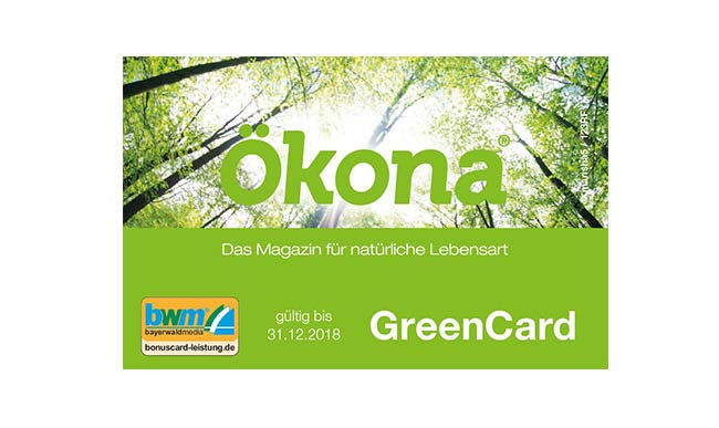 Ökona Green Card